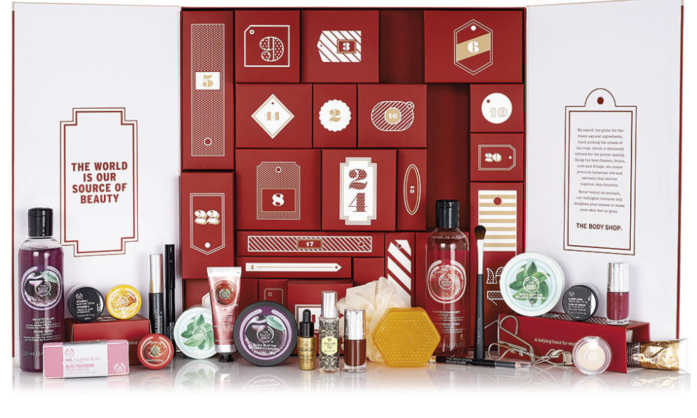 Body Shop Advent Kalender