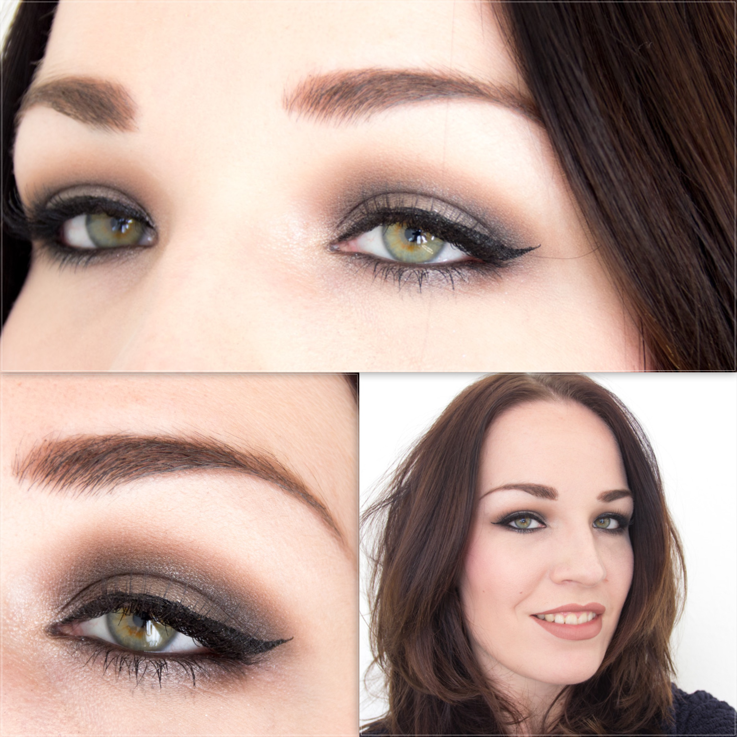 Look Urban decay smoky palette