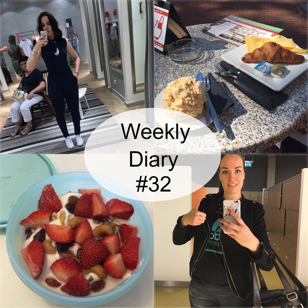 Weekly Diary Face2beauty