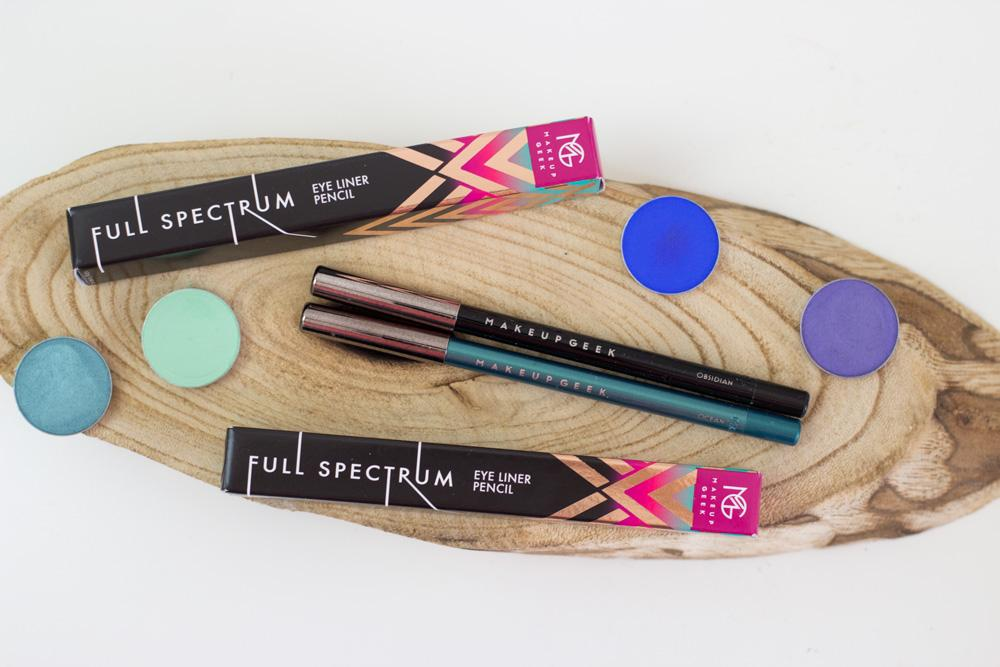 Makeup Geek Full Spectrum eyeliners