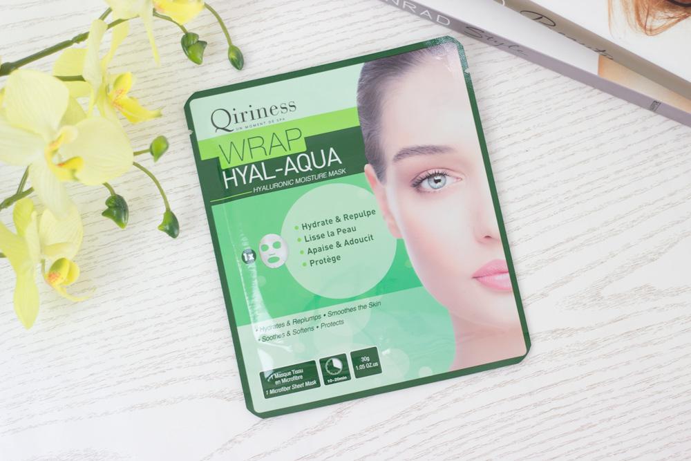 Qiriness Wrap Hyal-aqua mask