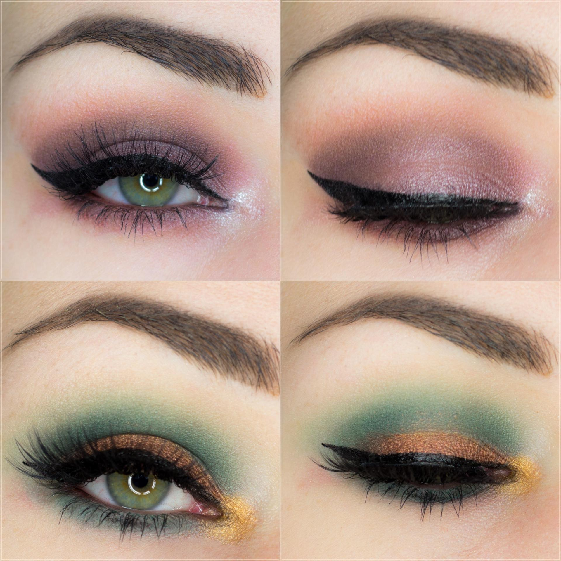 Eye looks // Two looks with Morphe 35S palette