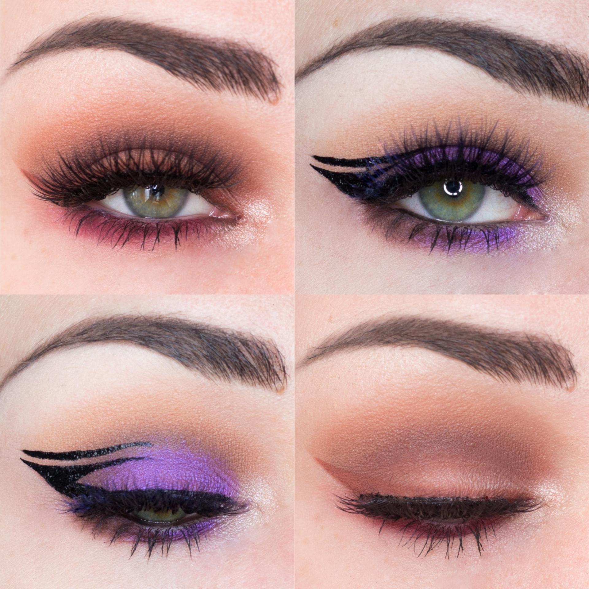 Eye looks // Modern Renaissance collab & Inspired look