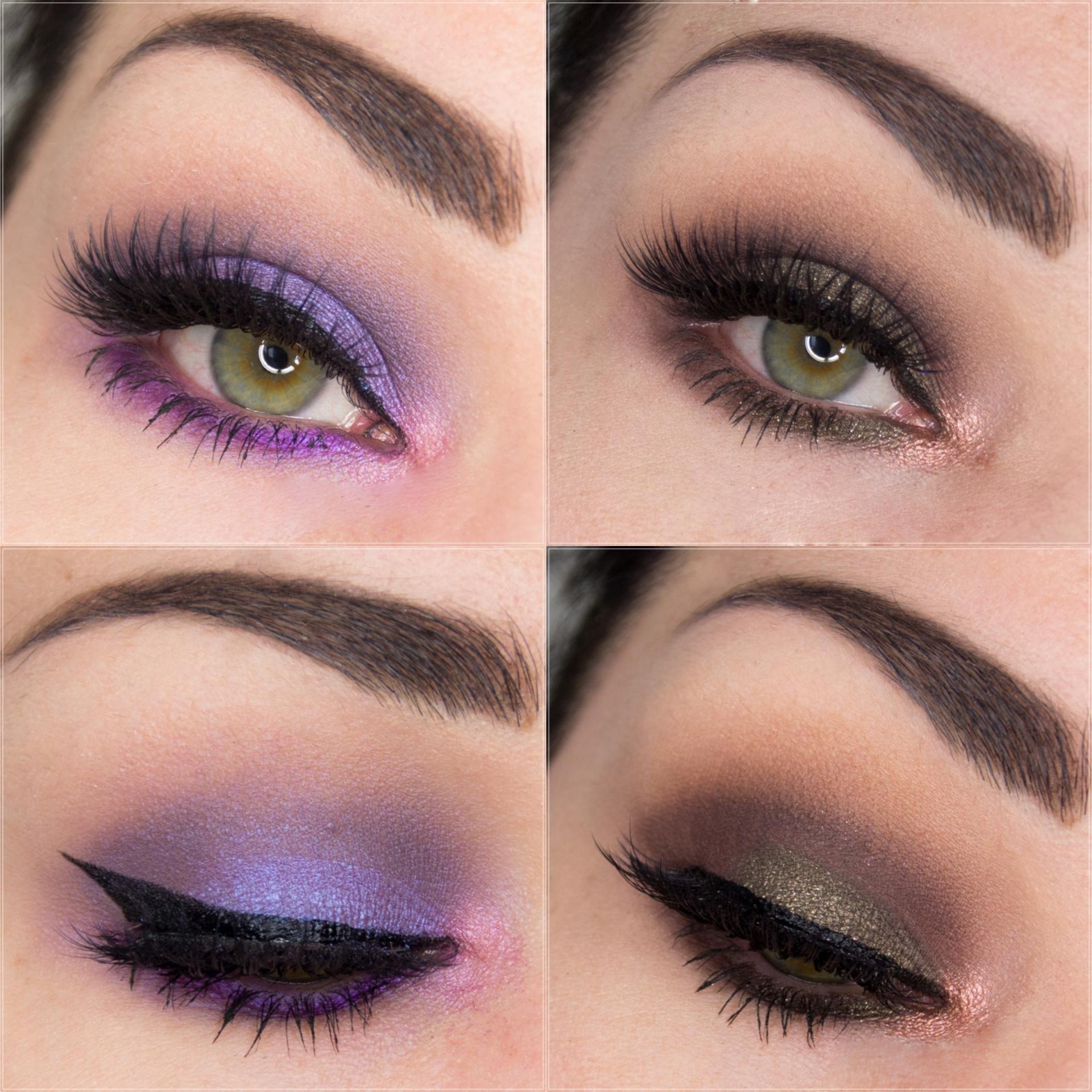 Eye looks // Smokey eye & Purple rain