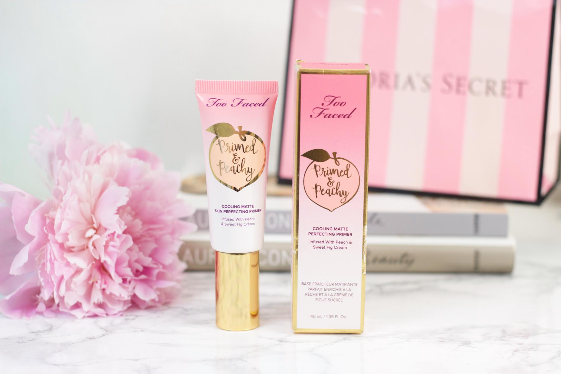 Too Faced Peachy cooling matte primer