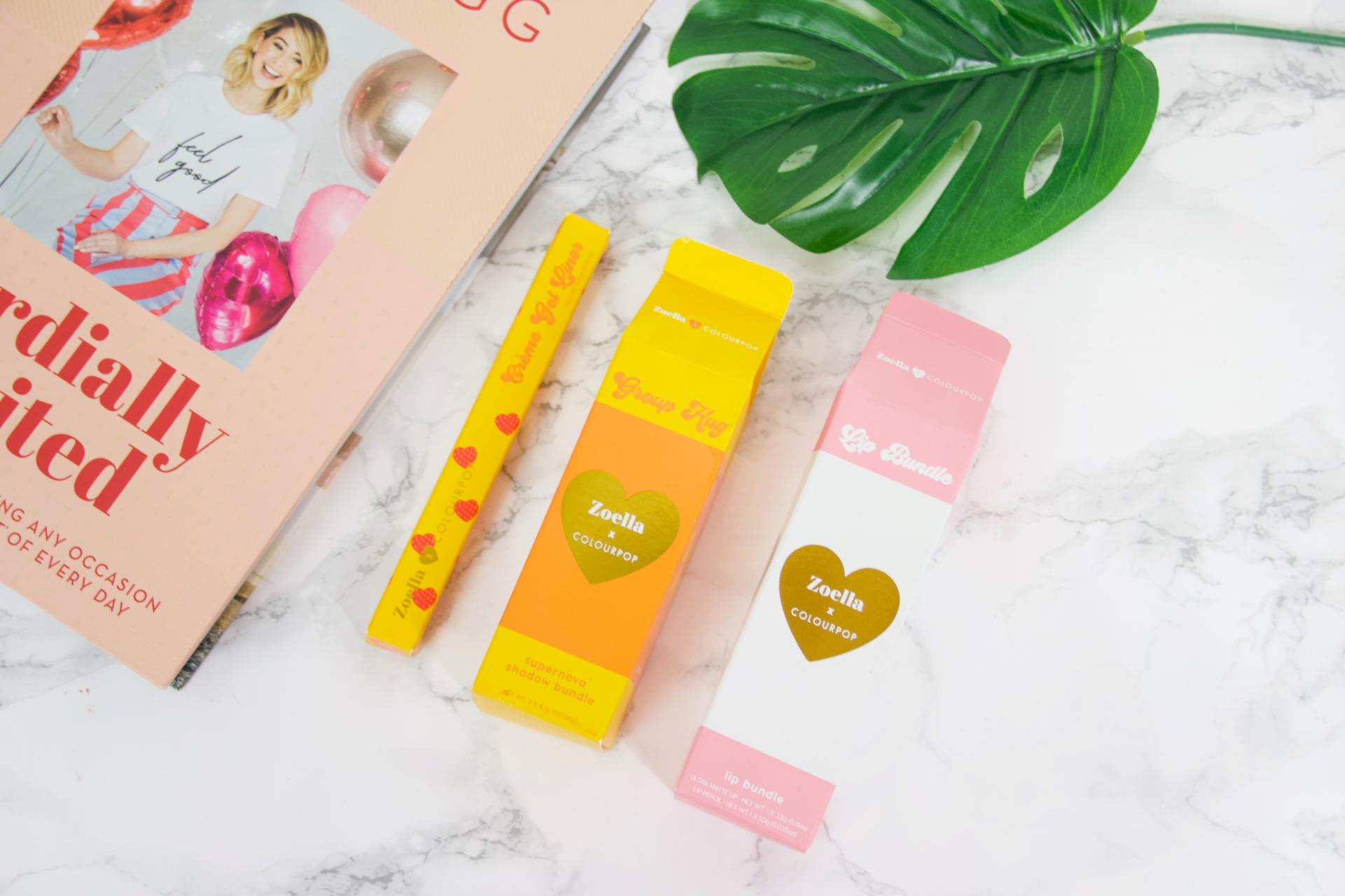 Colourpop x Zoella Brunch collectie