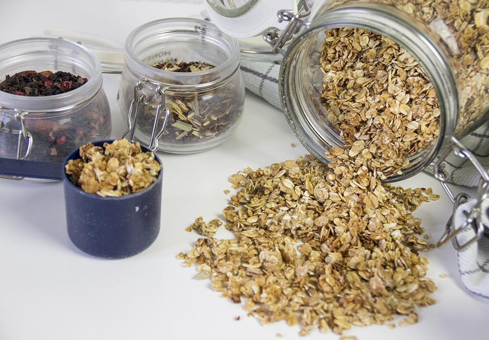 Recept voor zelfgemaakte granola