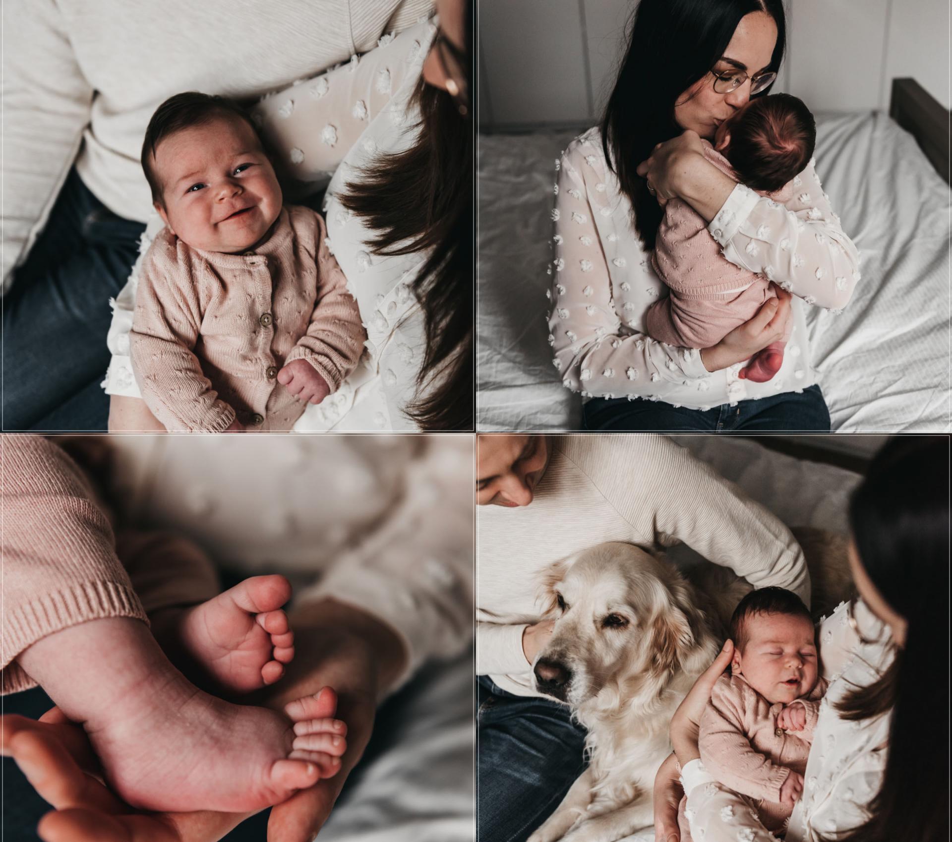 Newborn shoot met Pip