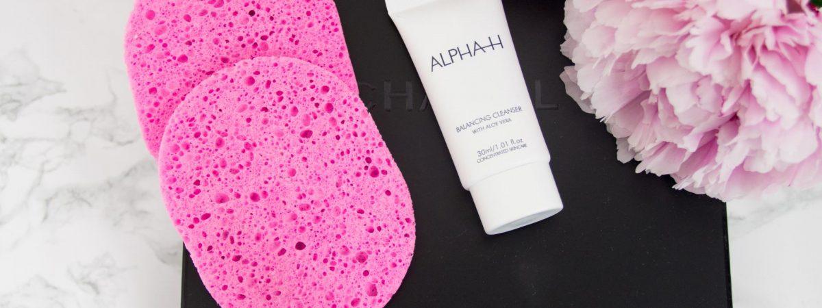 Review // Alpha-H Cleanser en Make-up Remover spons