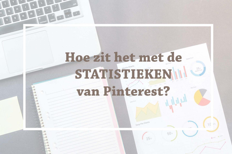 de statistieken van Pinterest