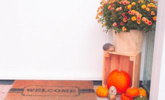 Voordeur Herfst sfeer